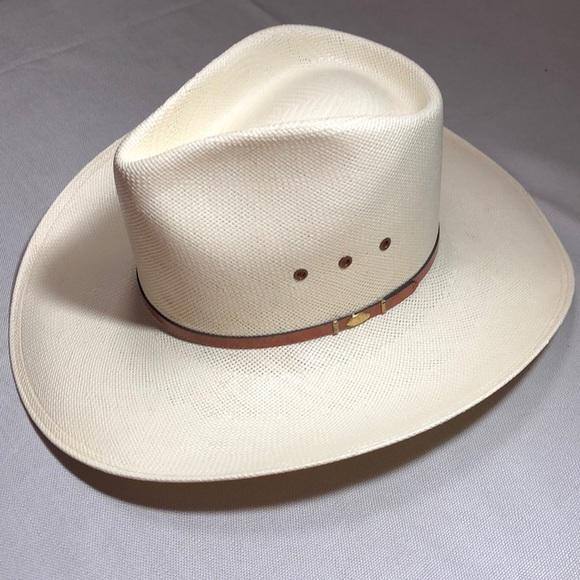 a0c595994 Resistol Accessories | Big Spender 10x Straw Cowboy Hat | Poshmark